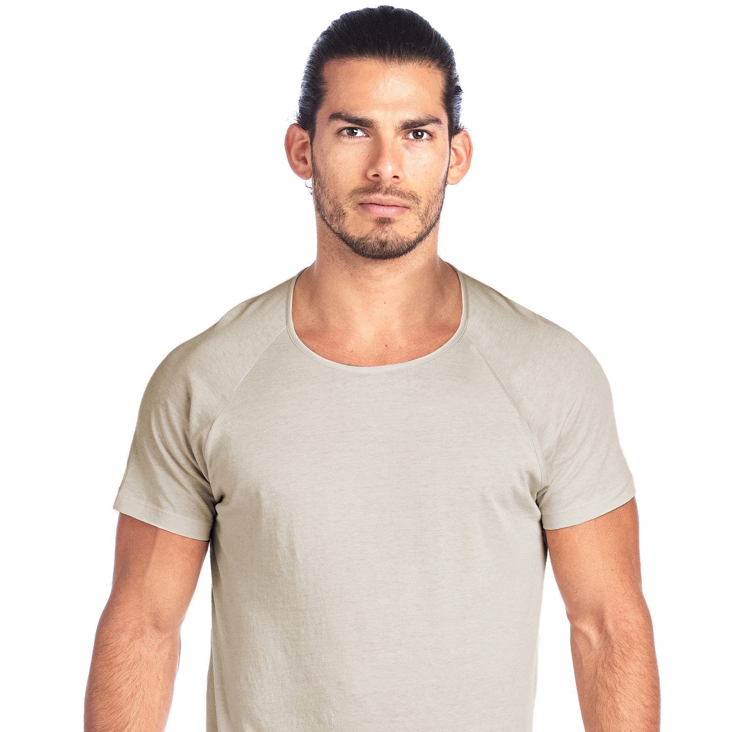SHIRTLESS | Crew Neck Undershirt | Tan